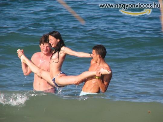 Balett oktatás a vízen
