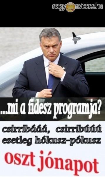 Fidesz program