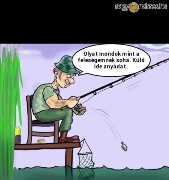 Horgász szöveg