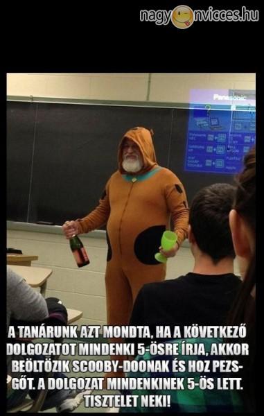 Jó fej tanár