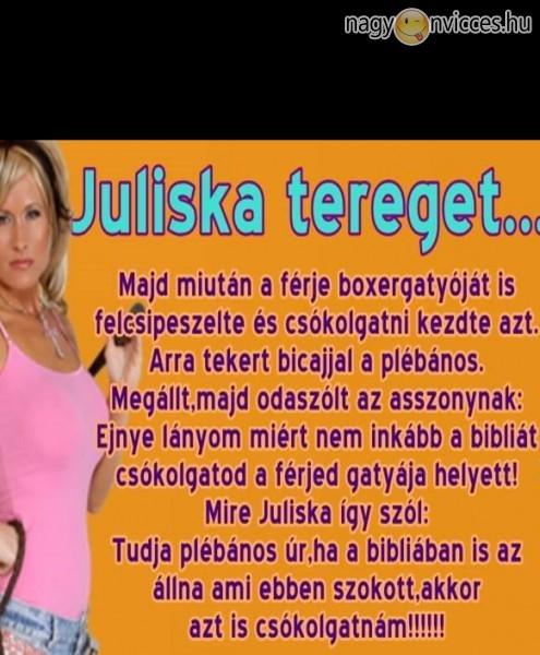 Juliska tereget