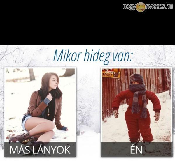 Lányok télen