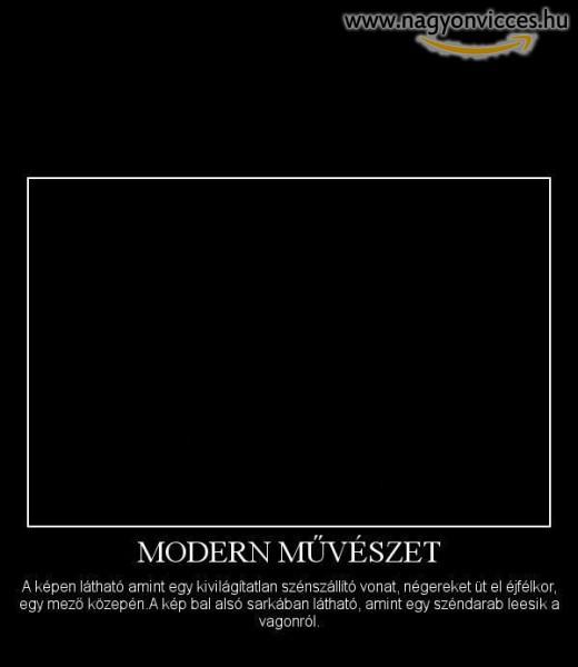 Modern művészet
