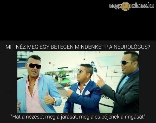 Neurológus!