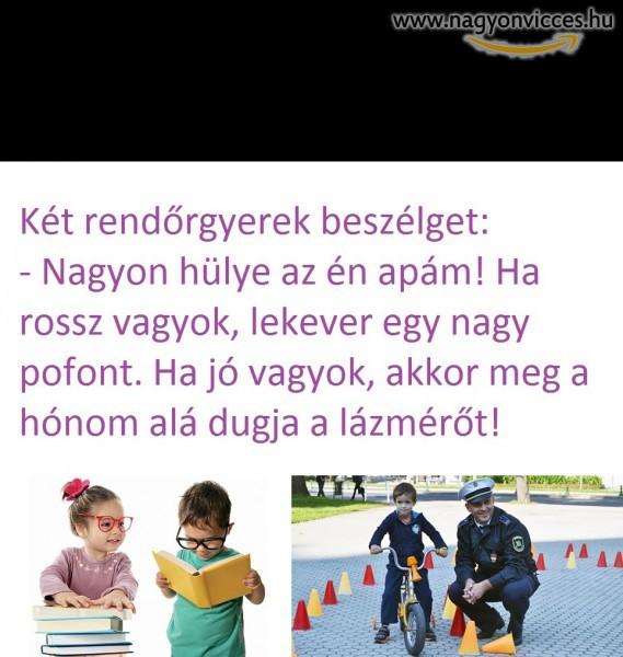 Rendőr gyerekek