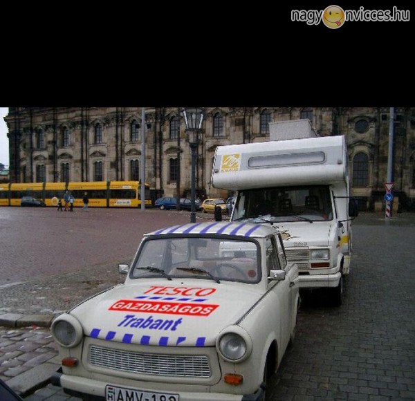 Tesco gazdaságos Trabant