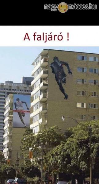 Tréfás grafiti