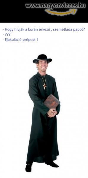 Utálatos pap