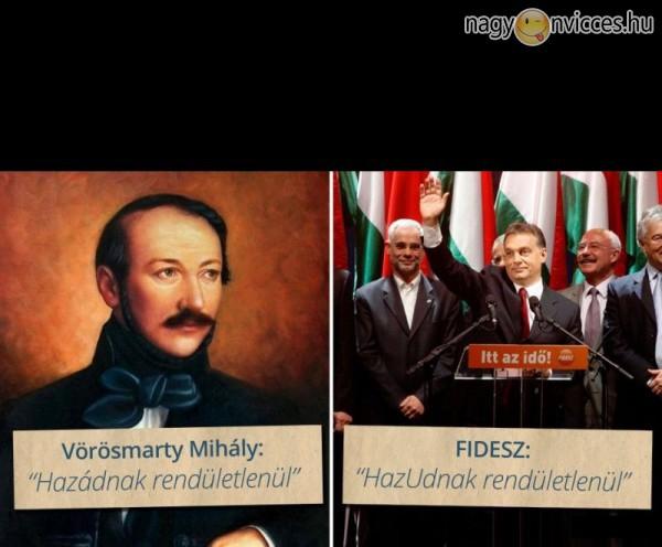 Vörösmarty vs FIDESZ