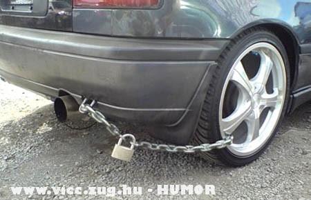 Autó kerékzár