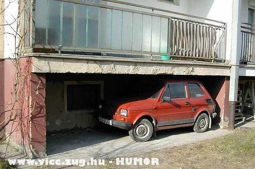 Kis garázs