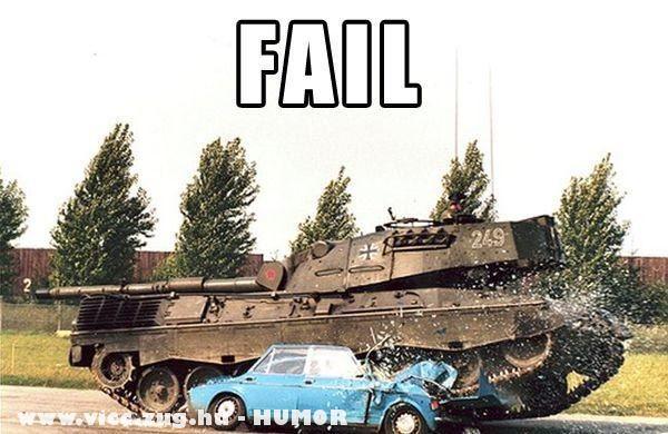 Tankkal könnyebb