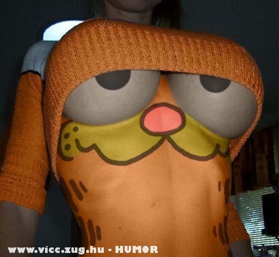 Garfield szemei