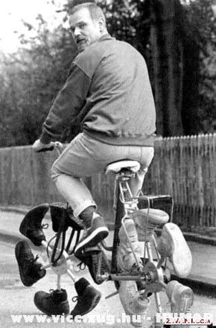 A lépegetõ kerékpárom