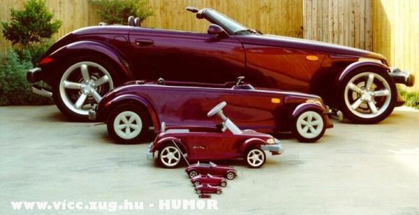 Autók minden méretben