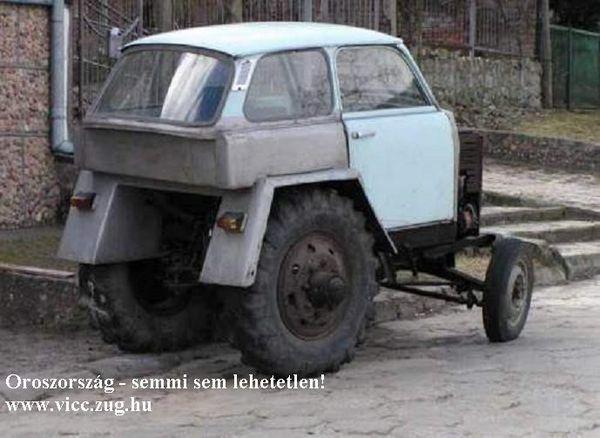 Ruszki traktor