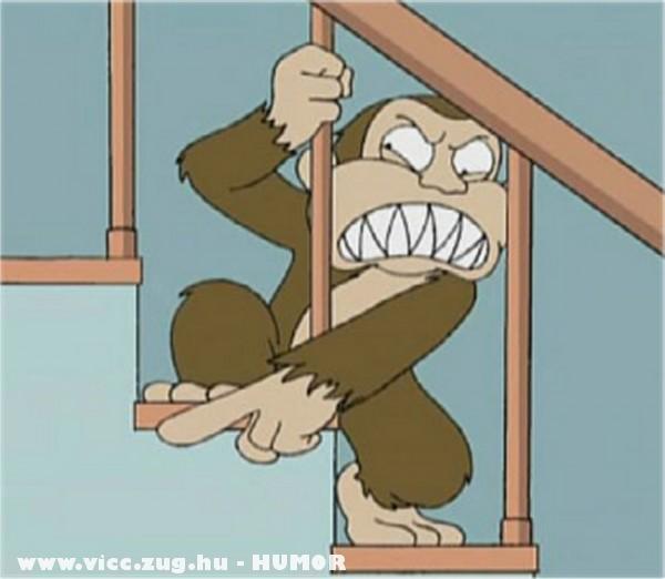 Evil majom - Family Guy