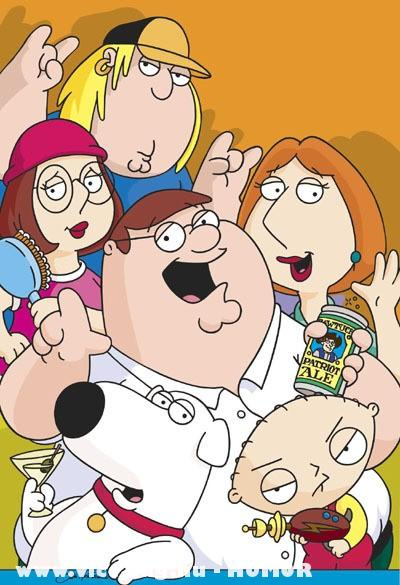 Family Guy Team Party