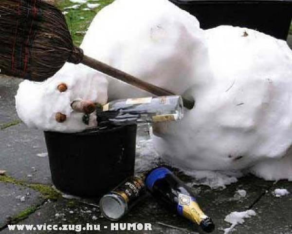 Ittas hóember