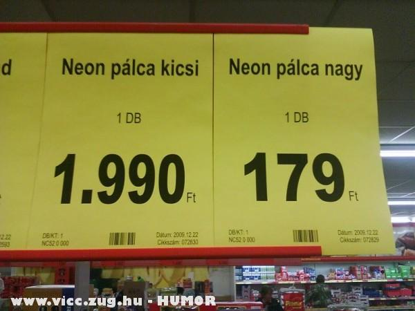 Érdekes árak