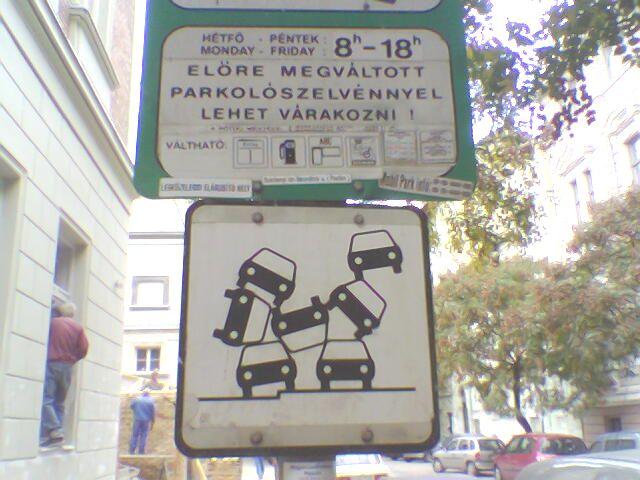 Megoldás a parkolási problémákra!