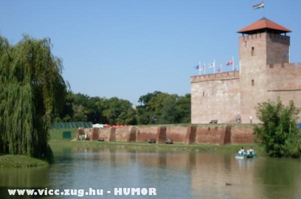 Csónakázó tó , Gyula