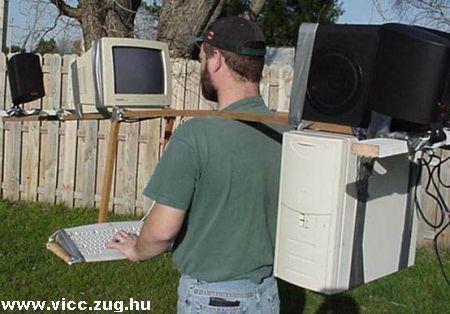 Az igazi hordozható számítógép