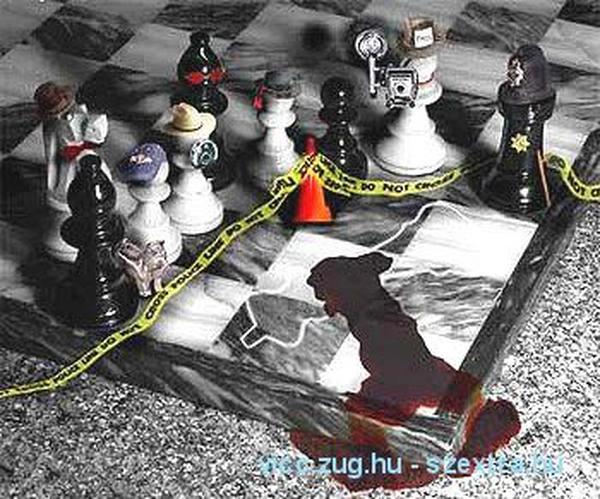 A sakk baleset miatt elbarikádozva!