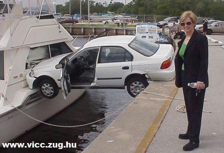 Majdnem pontos parkolás