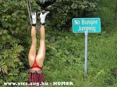 Tilos a bungee junping