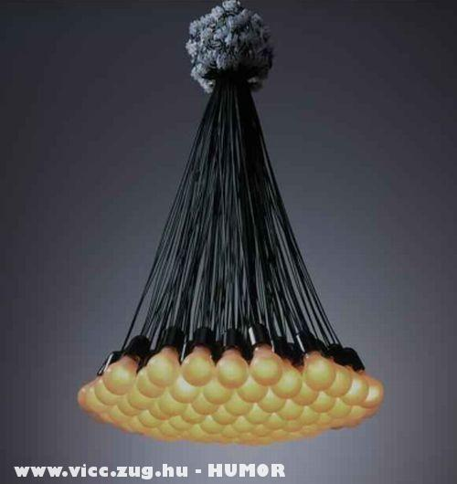 Egyszerû kivitelû lámpa
