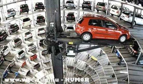 A jövõ parkolóháza