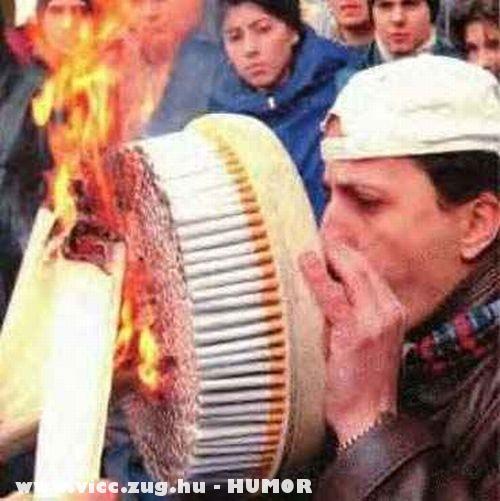 Erõs dohányos