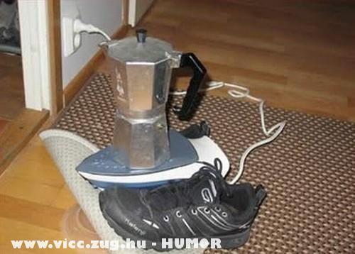 Készül a kávé