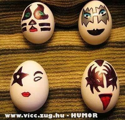 Húsvéti tojás mimikák