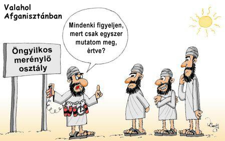 Terrorista kiképzés