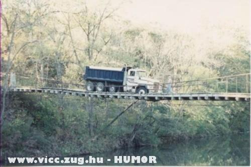 Bátor teherautó sofõr