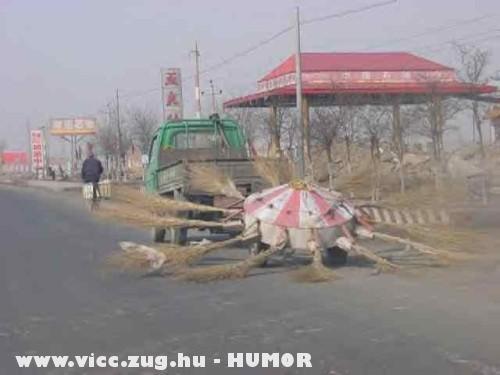 Kínai ufo zsákmány