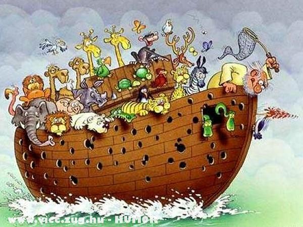 Noé Bárkája - nem minden állatnak
