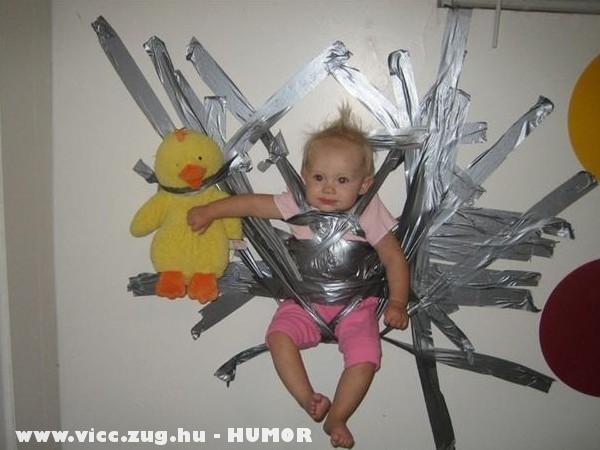 Au-pair - olcsó bébiszitter - humor