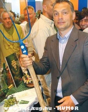 Orbán: dolgozzon, akinek két fasza van!