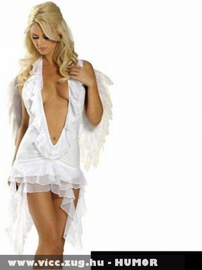 Fehér ruhás szépség