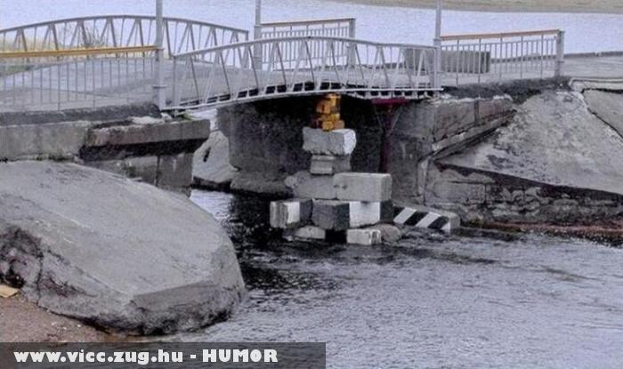 Alápóckolt híd