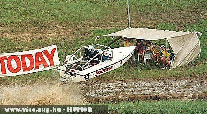 Vigyázz ha jön a csónak