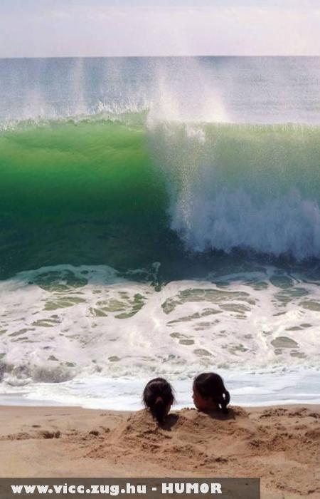 A ku... életbe, mekkora hullám!