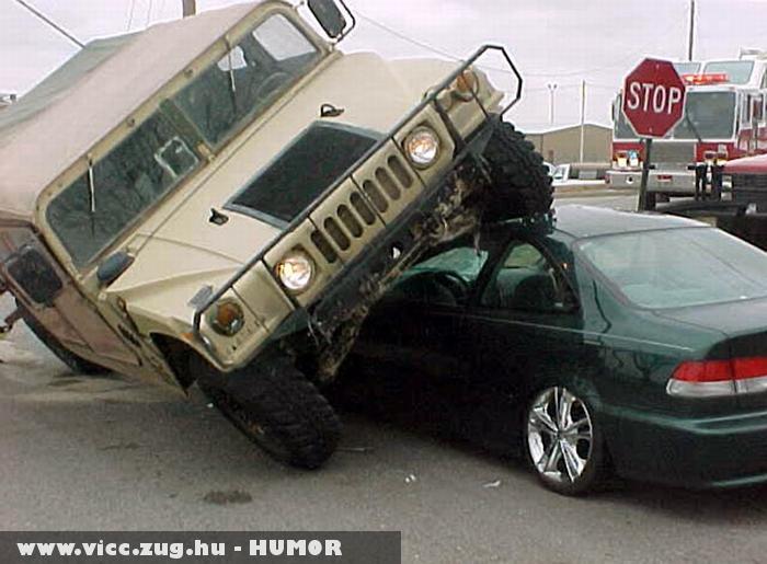 Vicces parkolás