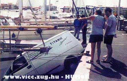 A titanic igaz története