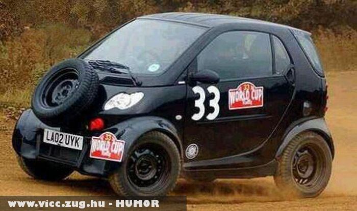 Mini rally verda