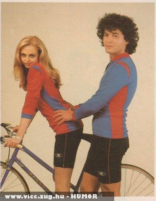 Tekerd a bringát!