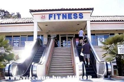 Irány a fitnessz klub!